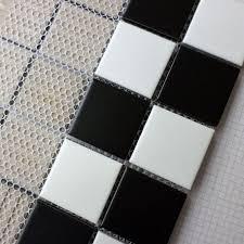 Aliexpress.com : Schwarz + weiß Keramik Mosaik Fliesen Küche ...