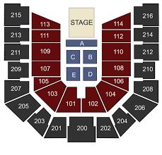 Cincinnati Bearcats Basketball Seating Chart Cintas Center Cincinnati Oh Seating Chart Stage
