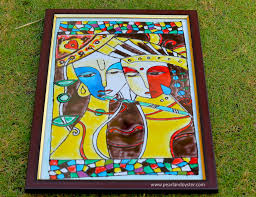 cze images glass painting designs of lord krishna outline