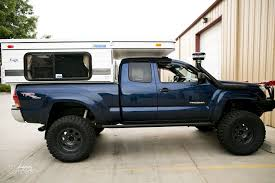 four wheel drive truck w/pop-up camper for survival | Tacoma | Truck ...