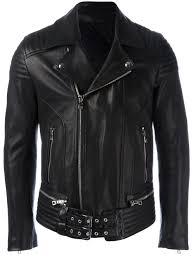 black lambskin belted accent biker jacket from balmain men jackets balmain pants balmain