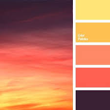 Fabulous Color Combines several beautiful colors: contrasting shades of  yellow, orange, coral and