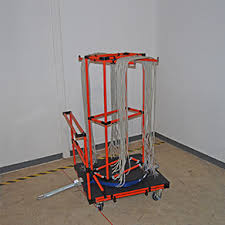 carts creform corporation Transport Wire Harness wire harness cart rack prevents tangling and misidentification of components at assembly stations, while providing secure transport and ergonomic part Wire Harness Manufacturers