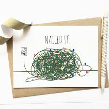 Christmas Card Ideas With Lights Funny Christmas Card Tangled Christmas Lights Funny Xmas