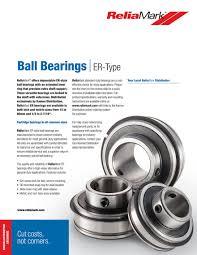 Kaman Distribution Reliamark Er Type Bearings Page 2