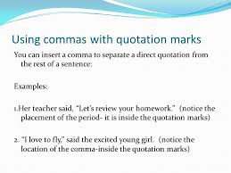 End Marks Abbreviations Commas Quotation Marks Semicolons