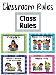 School Safety Rules Chart Pre K Classroom Rules Prekinders
