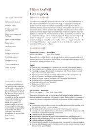 Civil Engineering Cv Template, Structural Engineer, Highway Design intended  for Structural Engineer Resume