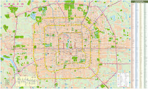 beijing street map  beijing china • mappery