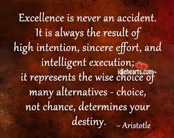 Aristotle Excellence Quote Cool Aristotle On Excellence The Logical Place