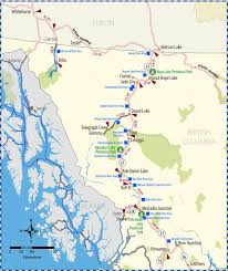 Highway 37 Map Province Of British Columbia In 2019
