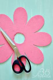 Chart Paper Flower Making Gardening Tips Diy Flower Hose And Printable The 36th Avenue