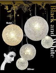 ball pendant lighting. Phube Lighting Modern LED Crystal Pendant Gold/Chrome Light Ball Lustre Free Shipping -in Lights From A