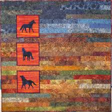 Horse Quilt Pattern Enchanting Horse Themed Quilts SewMod