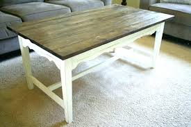 painted coffee tables refinishing table ideas how to refinish a farmho painted coffee tables