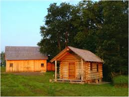 My Hand Made Log Cabin Timber Frame Barn And Wooden Canoes Derek