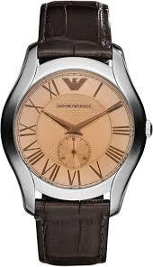 emporio armani mens watch black leather strap ar1703 ar1704 ar1705 emporio armani mens watch black leather strap ar1703