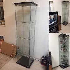 detolf glass display cabinet rak kaca detolf dari ikea home furniture furniture on carou