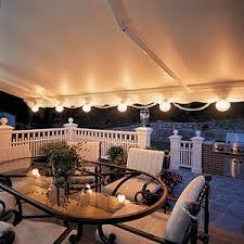 patio lights. SunSetter Patio Lights V
