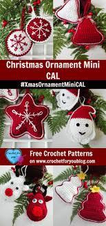 Christmas Ornament Mini CAL #XmasOrnamentMiniCAL