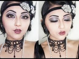roaring 20 s flapper makeup tutorial
