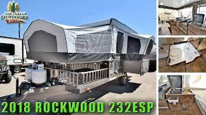new 2018 pop up toy hauler rv rockwood 232esp off road cer colorado