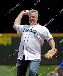 Former Seattle Mariners pitcher Bob Wolcott throws Editorial Stock ...