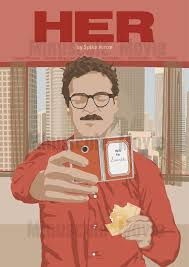 Her - Print - Poster - Spike Jonze <b>A3</b> | Poster prints, Movie <b>posters</b> ...