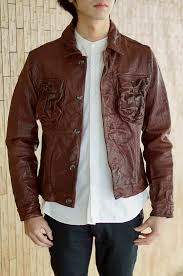 indian motorcycle indian motorcycle jacket men goat leather wash processing