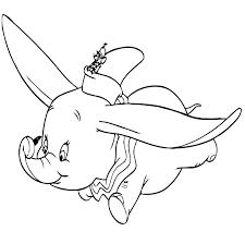 Kleurplaat Dumbo Disney 505