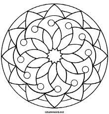 Small Picture simple mandala Coloring pages Pinterest Simple mandala