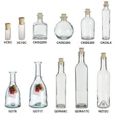 Decorative Oil Jars Bottles with Corks Wholesale Specialty Bottle 98