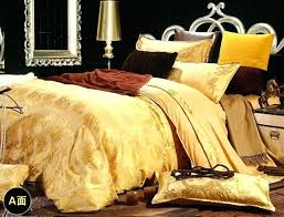 gold duvet cover queen luxury bedding gold duvet cover queen king size bed linen silk