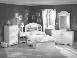 room with white furniture. Black And White Bedroom With Wood Furniture Room M