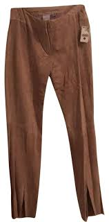 wilsons leather camel suede pants
