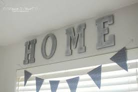 Wooden Home Sign DIY Wall Hanging Home Sign Wooden LettersLetter S Home Decor