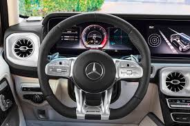 Despite appearing massive when seen by itself, the g63 is not that big of an suv. 2020 Mercedes Amg G63 Interior Photos Carbuzz