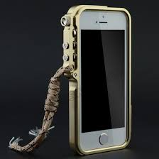 iphone 5s gold case. brand new premium aluminum metal bumper case for iphone 5/5s - champagne gold iphone 5s