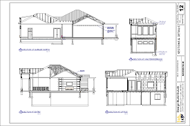 architecture building drawing. Building Sections Typically Drawn At ¼\u201d Scale, Section Drawings Are Cutaways Of Your Residence. They Used To Explain Such Important Information Architecture Drawing