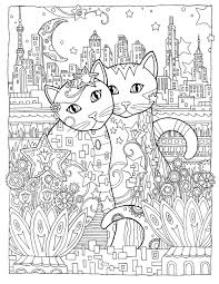 Creative Cats Colouring Book On The