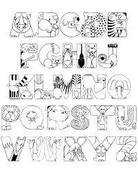 coloring book alphabet letters coloring book alphabet