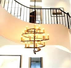 install chandelier high ceiling how to installation ed apartment