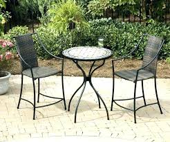 small patio table set bistro patio set with chairs small furniture full on high top