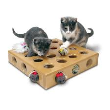 cat toy boxes puzzles