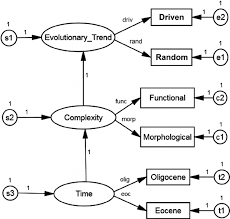 fig     sem of labeled causal inference diagram for centric    context