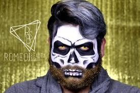 glitter beard skull