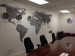 wall pictures for office. Vinyl Wall Map Pictures For Office