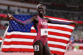 Athing Mu wins historic gold in women's ...