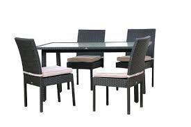 outdoor dining table for outdoor dining set glass table and four patio furniture chairs round outdoor outdoor dining table