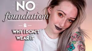 no foundation